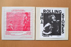 "2 rare unofficial albums ""Nasty habits in Glasgow"" &  ""The Hague 76"""