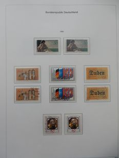 Federal Republic of Germany, 1980/1999 – Double Collection in Three KaBe Albums