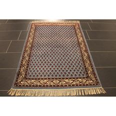 Beautiful hand-knotted oriental carpet - Sarough Mir - 150 x 100 cm - made in India - end of the 20th century