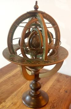 Sphere; Ptolemaic Armillary Sphere - 20th Century