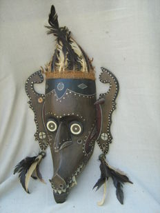 Hudoq dance mask – Dayak – Kalimantan – Indonesia