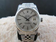 1979 ROLEX DATEJUST 16014 STAINLESS STEEL ORIGINAL SILVER TEXTURE DIAL