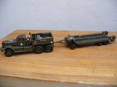 Smith Models - 1/48 scale - Diamond T M20 HT Sun Motor and M9 Remorque Rogers