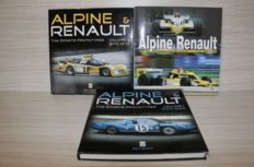 Alpine Renault - books - Roy Smith - 3x Alpine & Renault