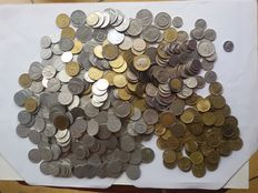 Republic of Italy – Lot of 528 coins