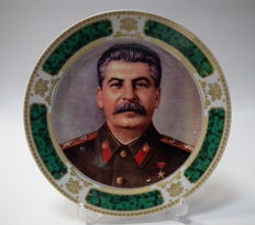 Collectible wall plate - Joseph Stalin
