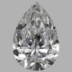 0.97 Carat Pear shape Diamond, DSI1, Serial# - 426
