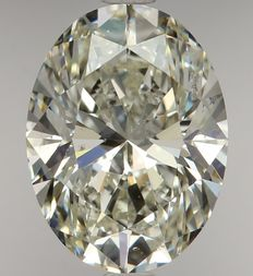 Oval Modified Brilliant 2.01ct  H SI2 - EGL USA WITH UGS APPRAISAL-1748#-original image-10X