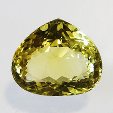 Lemon quartz – 17.74 ct