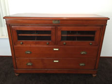 A beautiful walnut Dresser, France, late 20th century