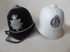 2 X Bobby Helmets - Mountcastle Pty. Ltd. & West Midlands