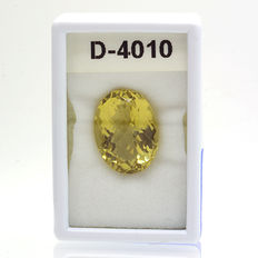 Lemon quartz – 26.57 ct