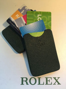 Smart and nifty cardholder fra Rolex