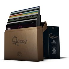 Queen - The Studio Collection ~ 18 x 180g Coloured Vinyl + 108 Page Book ~ Now Deleted ~ Rare