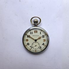 English officer's pocket watch - WWII - brand - Jeager la Coultre -