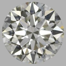 Round Brilliant  0.70ct  H VS2 - EGL USA WITH UGS APPRAISAL