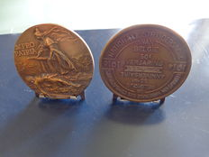 Belgian Medal NVI Gratitude + Medals Pro Patria and 50 years NSB
