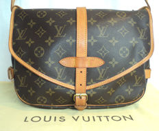 Louis Vuitton -Saumur 30 (Unisex) Cross Body Messenger Shoulder Bag