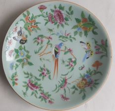 2 Old Chinese Plates - late 19th Century/early 20th (Republic period)