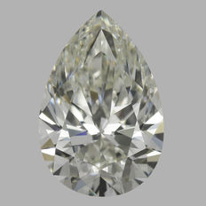 1.00 Carat Pear shape Diamond, JSI1, Serial# - 427