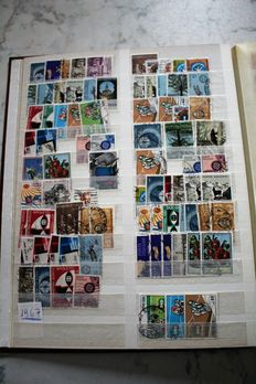 World stamps - collection