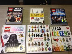 Assorted - 6 books including Star Wars - The Complete Work + Harry Potter - Characters of the Magical World