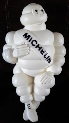 Michelin Bibendum - original 'made in France' pop in plastic - 48 cm 2nd half 20th century
