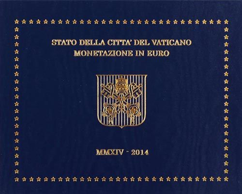 Vatican – Year pack 2014 Francis