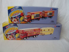 Corgi - Scale 1/50 - Lot with 2 models: Chipperfields Circus set with 1 x AEC & 1 x Foden