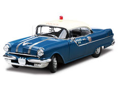 Sun Star Platinum Collection - Scale 1/18 - Pontiac Star Chief Police Car 1955