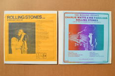 "2 Rare Unofficial Albums ""If You Can't Rock Me"" And  ""Charlie Watts & His Fabulous Rolling Stones"""