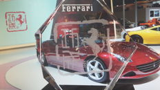 Ferrari trophy - Year of the Horse - crystal glass - 2014 Beijing Auto Show