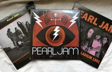 3 LP's Pearl Jam - Lightning bolt and live