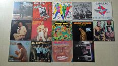 Rockabilly and Rock'N'Roll - Lot of 12 Albums and 2 Double Albums