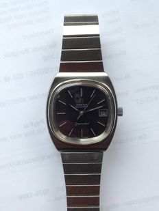 Omega Seamaster automatic with date and original Omega strap and Omega buckle