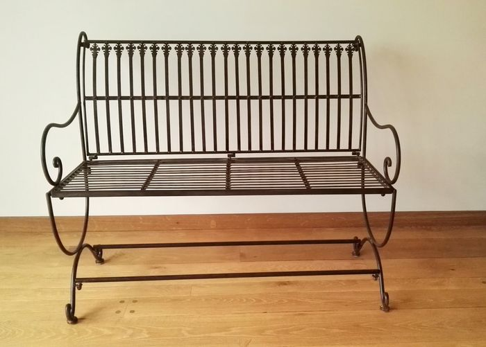 Bench - Iron (cast/wrought) - Second half 20th century