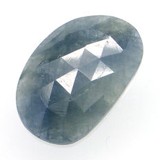 Blue sapphire of 12.17 ct.  No reserve.