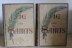 Mgr Paul Guérin - Vie des Saints – 2 volumes -  1887