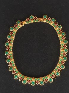 Marcel Boucher  peacock book piece chocker New York 1955-1960