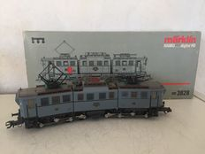 "Märklin Hamo H0 - 3828 - Articulated electric locomotive BR E 91 of the DRG, ""Service Modell"""
