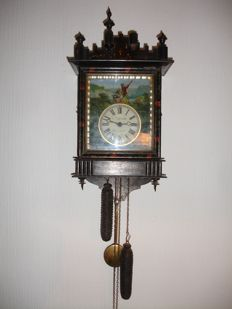 Old wall clock - early 1900