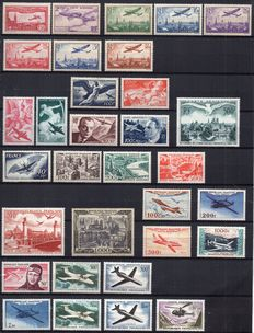 France 1930/1964 – Set of airmail stamps
