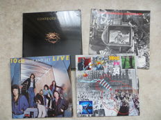 ROCK Various Artists - Nazareth, BTO, 10cc, Lol Creme / Kevin Godley Consequences-box sealed.  Nine (9) Unplayed  'Sample Records Not for sale' LP's