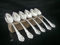 Set of 6 1933 Chicago Century of Progress International Exposition Teaspoons Boxed