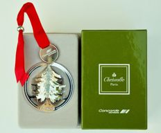 Air France Concorde plane by Christofle - Christmas tree ornament, Christmas 1990
