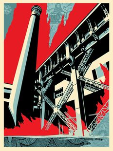 Shepard Fairey - Fossil Factory