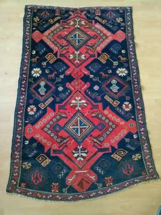 "Rare antique, collector and autentic ""SHIRVAN"" carpet size:180×115cm"