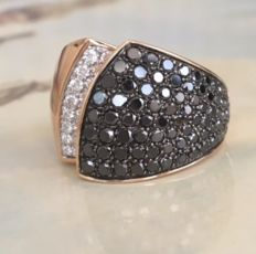 "Chimento – ""Desiderio"" 18 KT rose gold diamond ring approx. 2.31 ct"