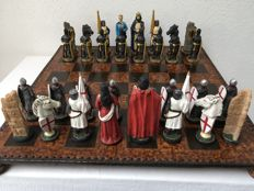 Historical chess set War England - Germany