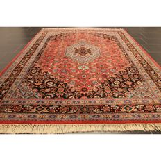 Oriental carpet, Indo Bidjar Herati, 170 x 240cm, made in India at the end of the last century